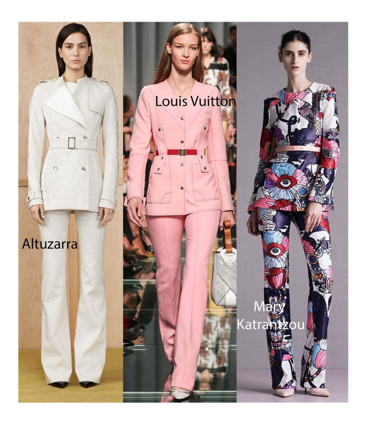 SS 2015 Pant Suits